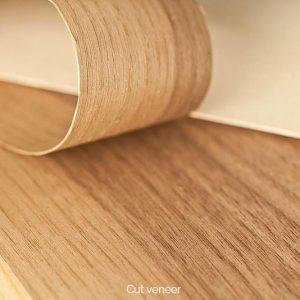 Cut veneer